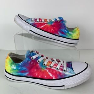 Converse Chuck Taylor Tie Dye Low Top Sneakers 8